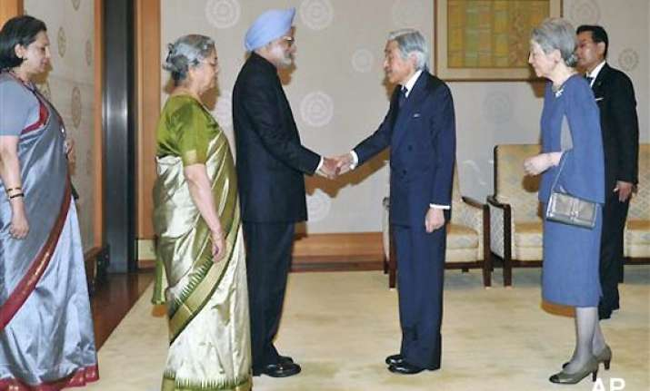 on closer ties with india japan plays down china factor
