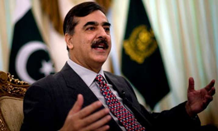 only answerable to pak parliament gilani