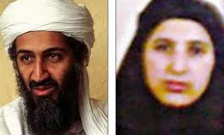 osama s wife says no to surgery till pak frees her