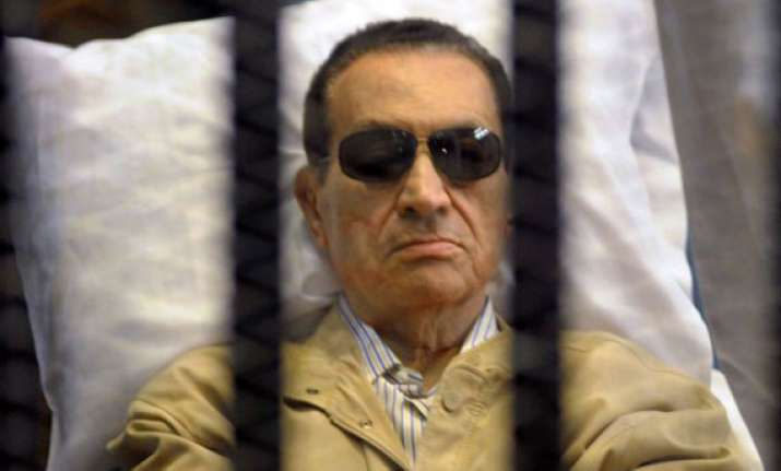 ousted president hosni mubarak sentenced to three years in