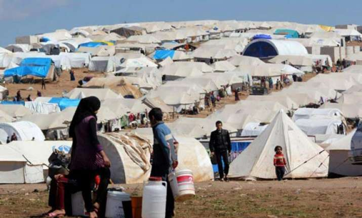 over 591 000 syrian refugees now in jordan