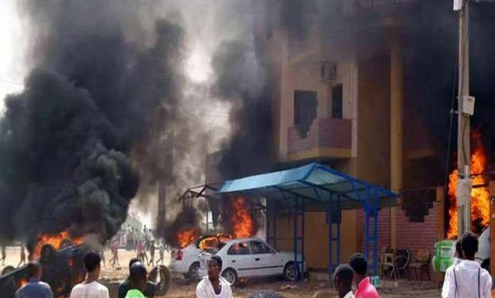 over 60 killed during sudan protests official