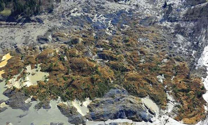 over 100 missing in us mudslide