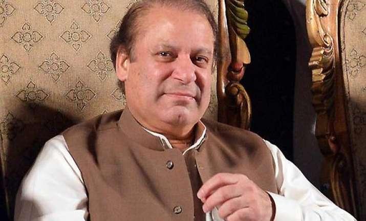 pak pm sharif calls for new beginning in india pakistan ties