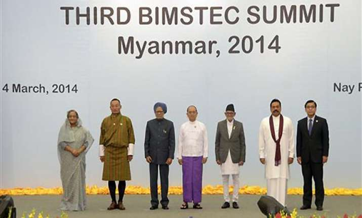 pm seeks strong cooperation from bimstec to counter