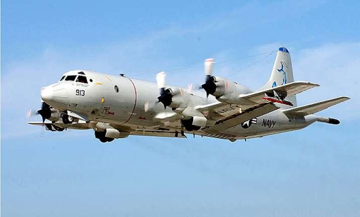 p3c orion maritime surveillance plane inducted into pak navy