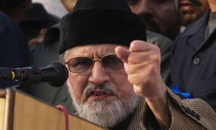 pak crisis deepens qadri issues 48 hour deadline to