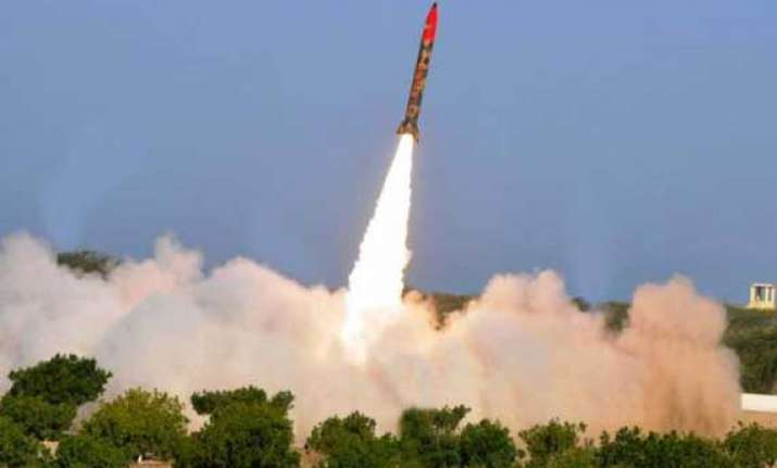 pak test fires nuclear capable short range missile hatf iii