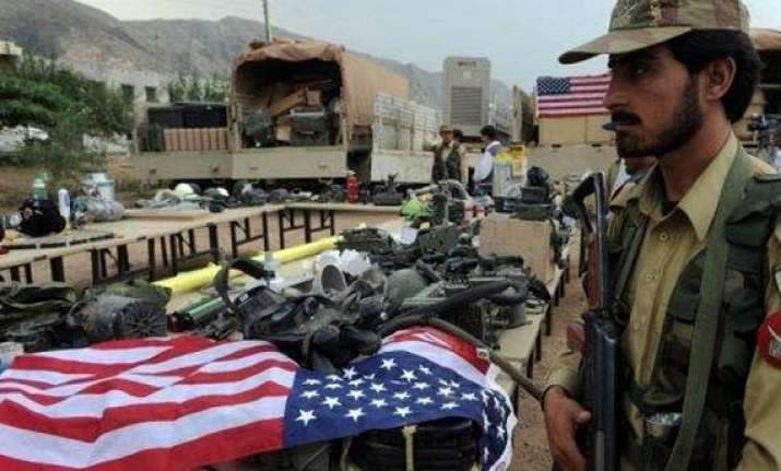 pak forces claim seizing us nato military equipment