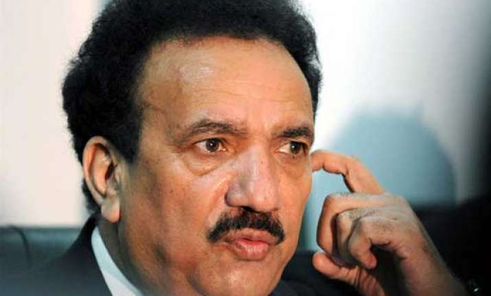 pak law does not permit taking voice sample rehman malik