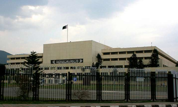 pak parliament turns into boxing ring