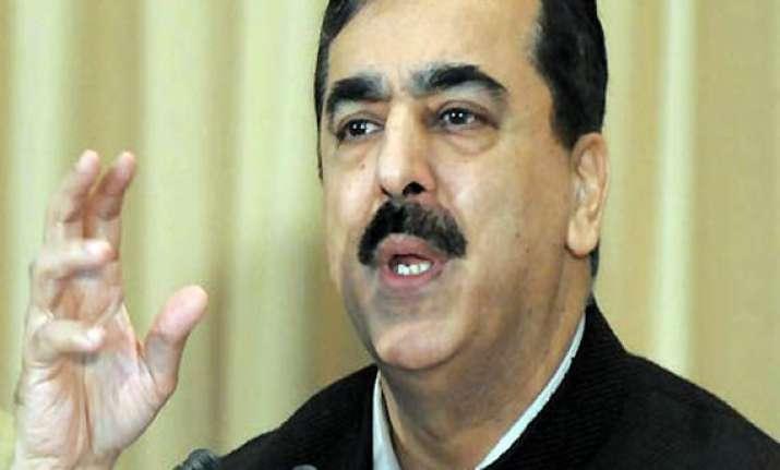 pak parliamentarian in contact with ijaz says gilani