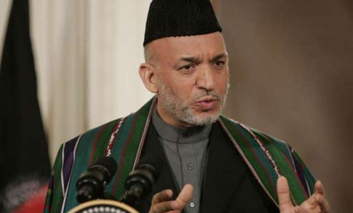 pak should be happy afghan is being helped by india karzai