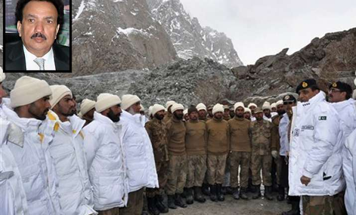 pak will never withdraw army from siachen unilaterally says