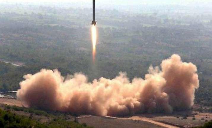pak test fires nuke capable hatf v ballistic missile