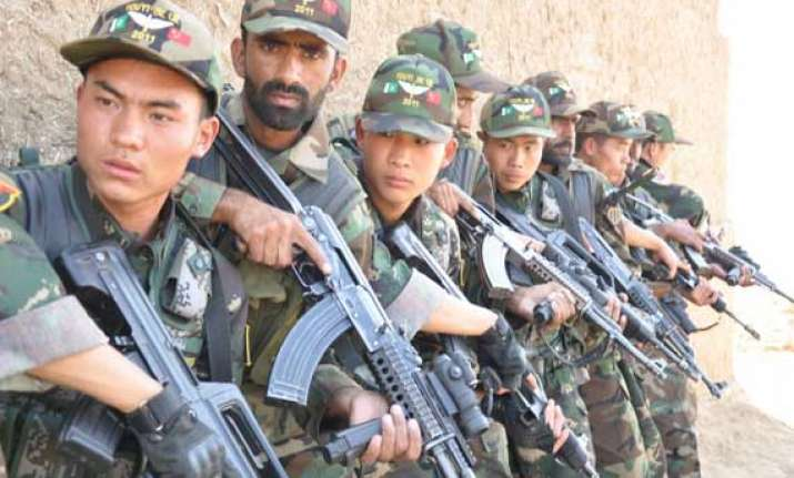 pakistan china hold joint military exercise