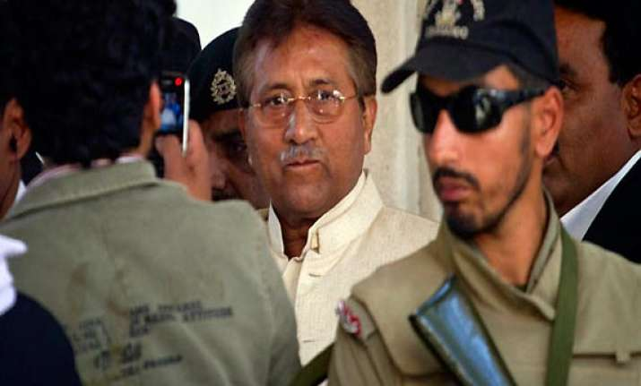 musharraf indicted pleads not guilty to all charges