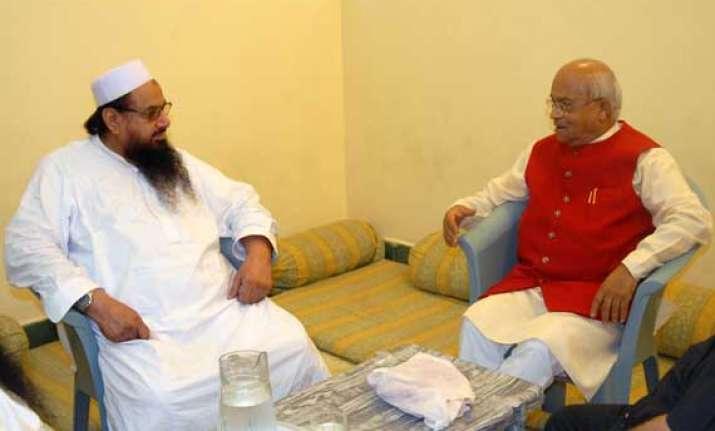 pakistan distances itself from vaidik saeed meeting