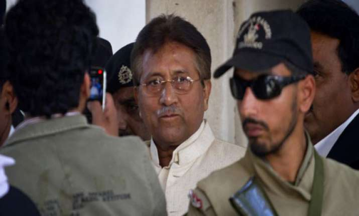 pakistan re arrests musharraf over lal masjid operation