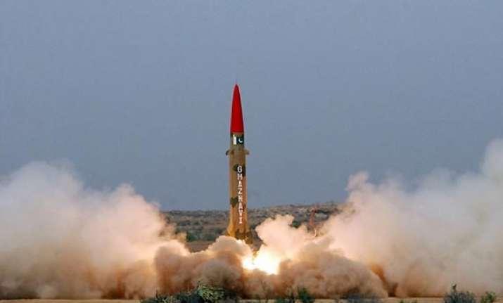 pakistan test fires n capable ballistic missile