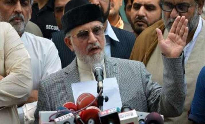 pakistani cleric tahir ul qadri ends talks with government