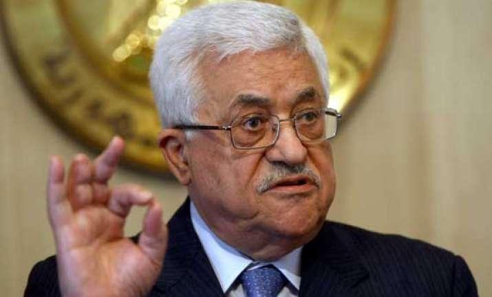 palestinian president seeks un probe into israeli crimes