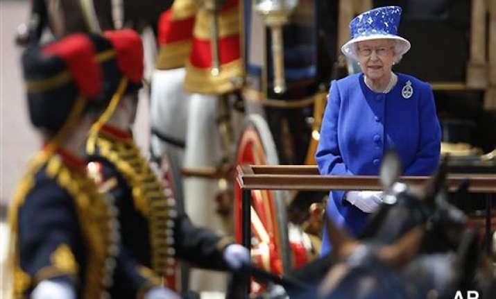 parade marks queen elizabeth ii s birthday
