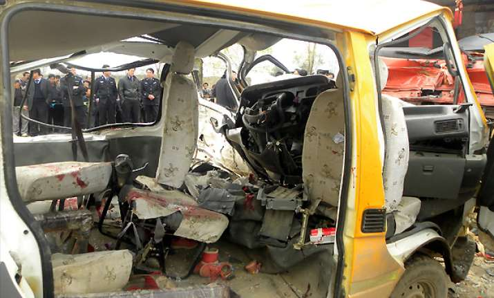 parents had safety fears for jammed china bus