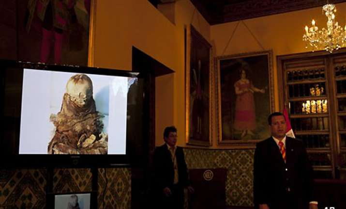 peru officials seize 700 year old mummy being smuggled to