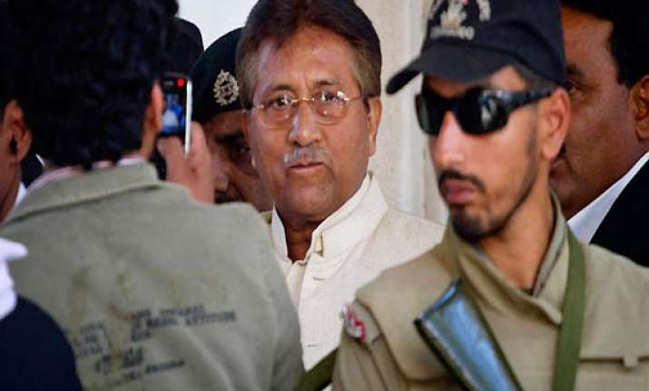 pervez musharraf charged in benazir bhutto killing
