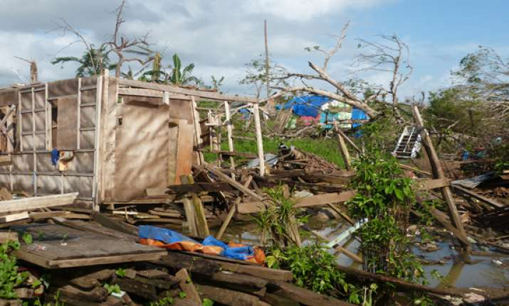 philippine storm spares capital but strands many