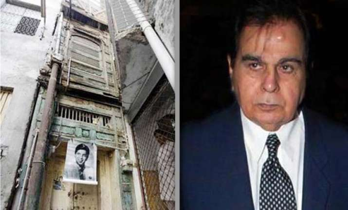plan to turn dilip kumar s pak house into museum hits snag