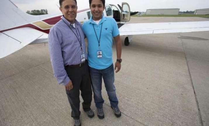 plane of pakistani teen pilot seeking world record crashes