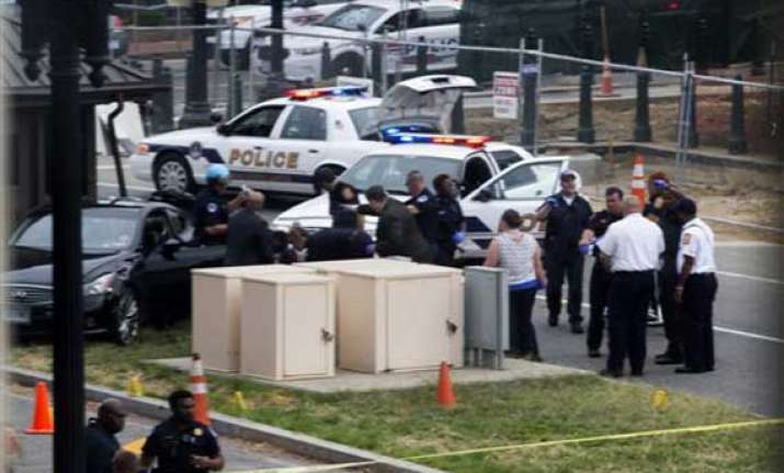 police shoot kill driver after capitol hill chase