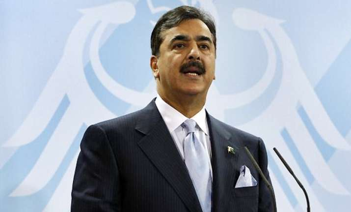 political settlement solution to afghan problem gilani