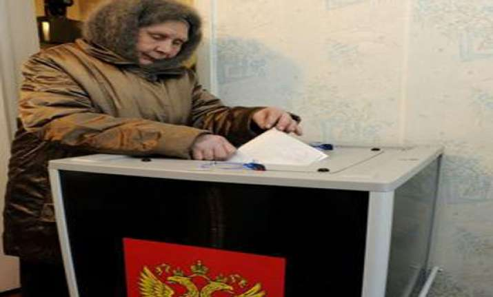 polling in progress for russian presidential elections