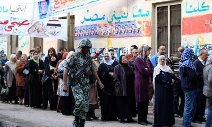 post mubarak egypt votes in historic polls
