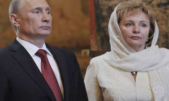 president putin wife announce divorce