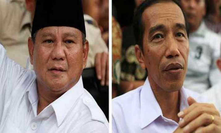 presidential polling begins in indonesia