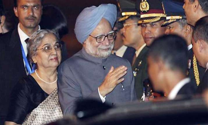 prime minister arrives in indonesia
