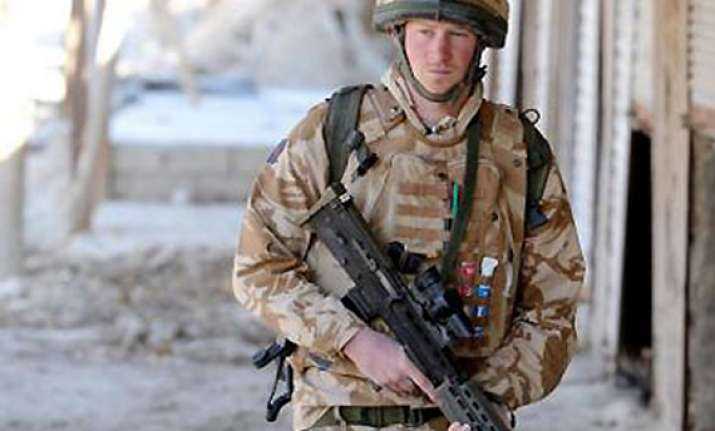 prince harry says he is returning to afghanistan