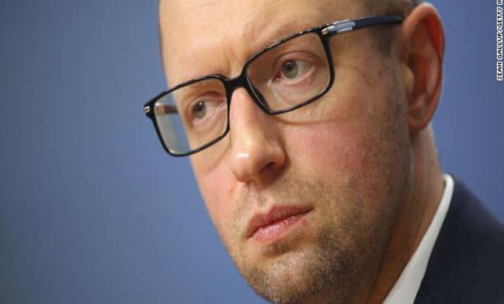 pro eu protest leader yatsenyuk named ukraine premier