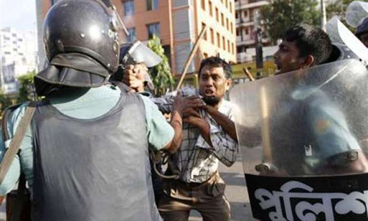 protests turn violent in bangladesh
