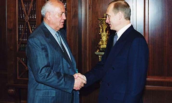 putin files nomination gorvachev demands re election