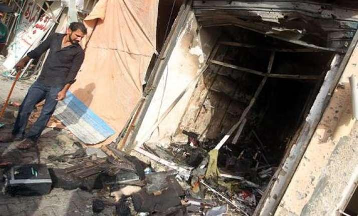 random shooting bombings kill 15 across iraq