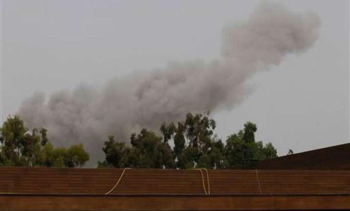rare daytime nato airstrikes hit tripoli