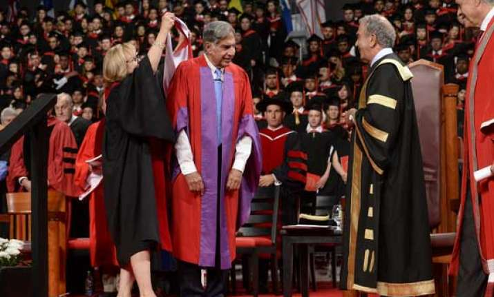 ratan tata gets honorary doctorate from canada s york