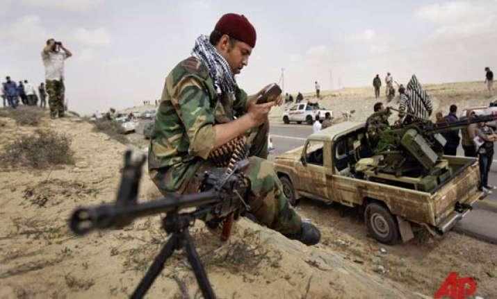 rebels slam nato for slowdown in strikes