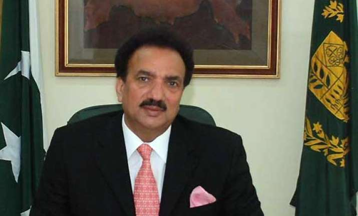 rehman malik appointed advisor to pak pm