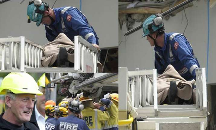 rescuers pulled a woman from rubble after 24 hours
